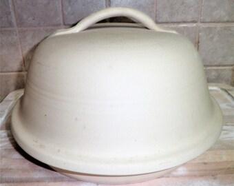 Vintage The Original Superstone La Cloche cooking pot