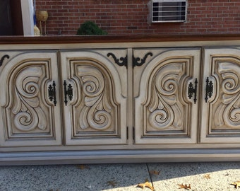 SOLD to Jim-Thomasville Buffet Media Center Credenza