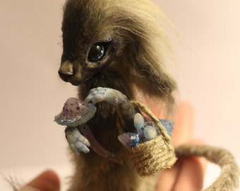 SOLD!(for example)  OOAK fantasy creature Tokke