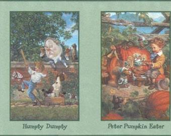 King Cole Peter Pumpkin B103343 Wallpaper Border