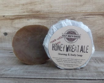 Honey Wheat Ale/beer soap