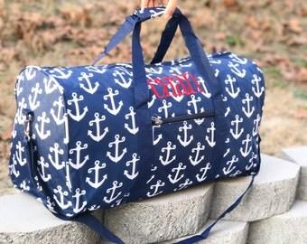 Nautical Duffel Bag Etsy