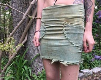 XS Ariell skirt sage green