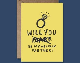 Netflix Partner Greeting Card