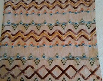Swedish Weaved Afghan - Multicolor