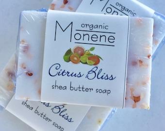 Citrus Bliss Shea Butter Soap