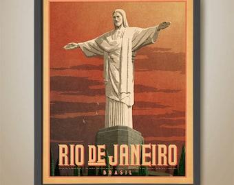 Christ the Redeemer, Rio de Janeiro, Brasil, Brazil, Cristo Redentor, Art Deco Statue, RIO