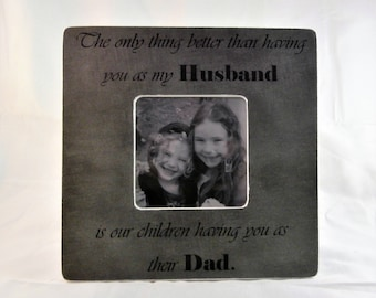 Christmas gift from wife, present for husband Christmas dad gifts frame