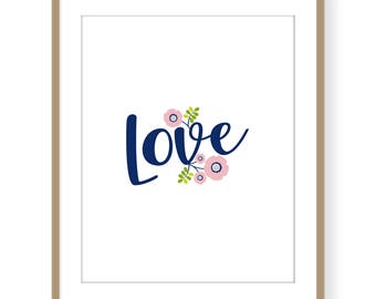 Love poster instant download