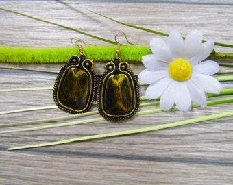 earrings / soutache technique / handmade (nr126)