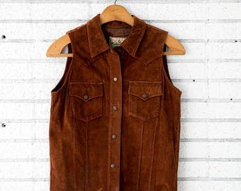 Made In Jeans Leather Vest