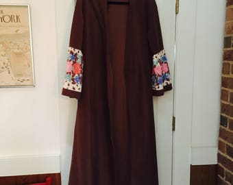 Vintage Vanity Fair Brown Robe