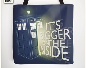 Tote Bag - Doctor Who | It's bigger on the inside