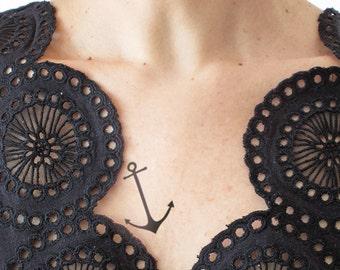 Anchor - Temporary Tattoo (Set of 2)