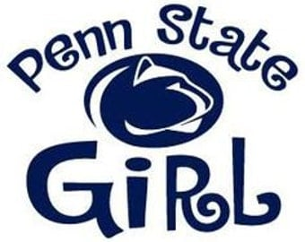 SVG, penn state, penn state girl, penn state football, college football, cut file, printable file,  cricut, silhouette, instant download