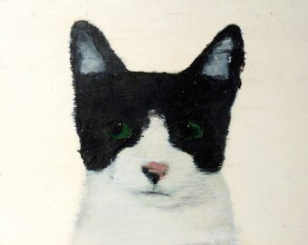Mr Bardon - original cat art