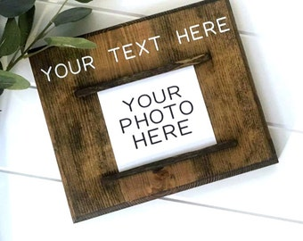 Personalized Picture Frame   Custom Photo Frame   Personalized Gift   Gallery Wall   Gifts for Her   Boyfriend Gift   Girlfriend Gift