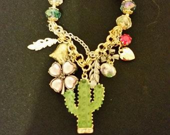 Catus Charm Bracelet