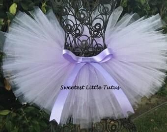 Lavender Tutu/ Purple Tutu/ Sophia the First Tutu/ Newborn Tutu/ Birthday Tutu/ Newborn Photo Prop/ Smash Cake Tutu