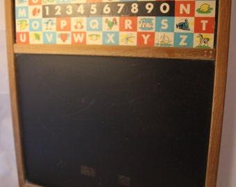 Vintage ABC Chalkboard