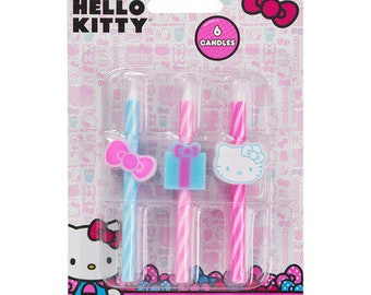 HELLO KITTY ICON Birthday Candles