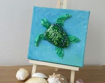 Sea Turtle Wall Art, sea turtle sculpture, sea turtle wall decor, ocean wall art, ocean sculpture, marine life wall art, marine sculpture