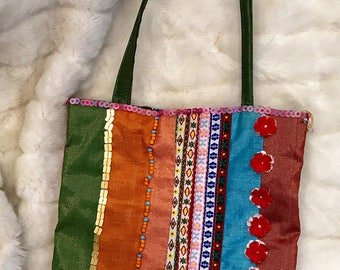 Vintage 90s Indo Tote Bag
