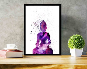 Spiritual Wall Art meditation wall art | etsy