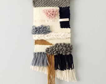 Woven wall hanging/textile weaving/wall art tapestry/custom orders welcome