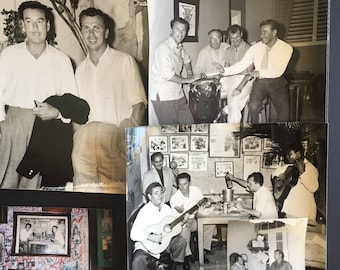 Errol Flynn in Cuba Original 1950's Collection of Photographs, Book, Magazine and Newspaper Articles/Clippings