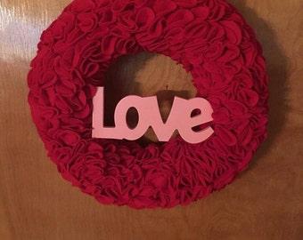 Romantic Love Wreath