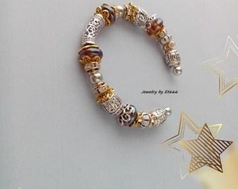 Jewelry designers metal bracelet. Angha