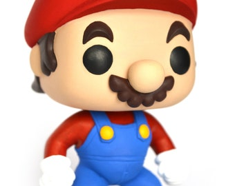 Custom out Pop - Mario