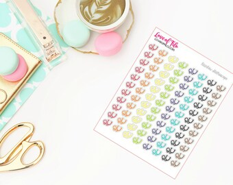 Stethoscopes | Rainbow Color Scheme | Life Planner Stickers