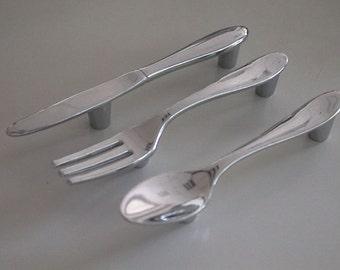 Spoon cabinet handles | Etsy