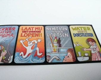 Vintage Dutch Watercompany stickers