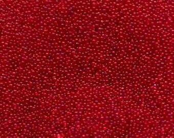 1 Oz. Scarlet Red Micro Beads, Bin #29