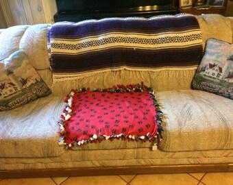 Fleece Pet Blanket for couch