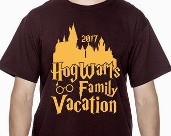 Hogwarts Family Vacation Harry Potter Personalized Personalized shirt tank sweatshirt