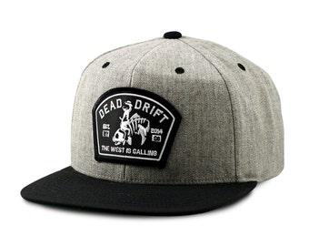 Fly fishing hat bow flat bill snapback trout fly fishing for Flat bill fishing hats