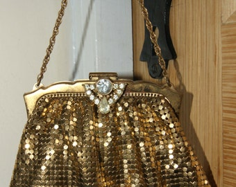 Whiting and Davis Co Metal Evening Bag