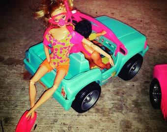 Vintage glitter Scuba Barbie outfit
