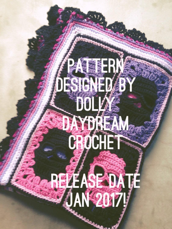 Skull Blanket Crochet Pattern Skull Blanket Pattern Crochet