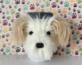 Havanese Gifts - Havanese Dog - Pet Mom Gift - Havanese Mug Cozy - Dog Mom - Gift for Mom - Pet Lover Gift - Realistic Dog - Life Like Dog