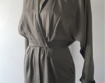 80's Trench military dress