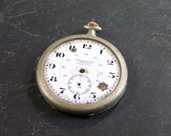 Chronometer Senn -old pocket watch -  vintage Made in Switzerland