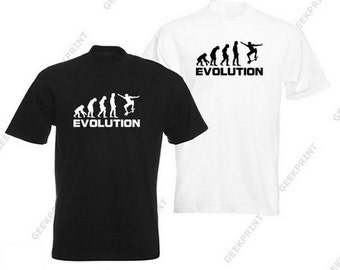 T-SHIRT shirt tee evolution skate board Board Thrasher skater skateboarding skate rider tshirt sports riding S M L XL