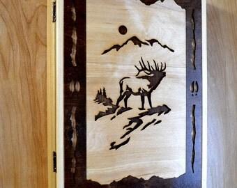 Elk Wood Cabinet