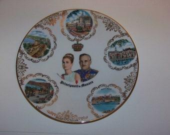 Monaco Monte Carlo Porcelain Collector Plate