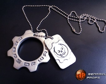 Gears of War Cog Tag - Customization